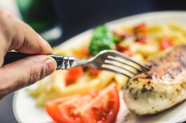 pavo dieta cenas