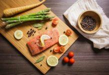 dieta cena salmon