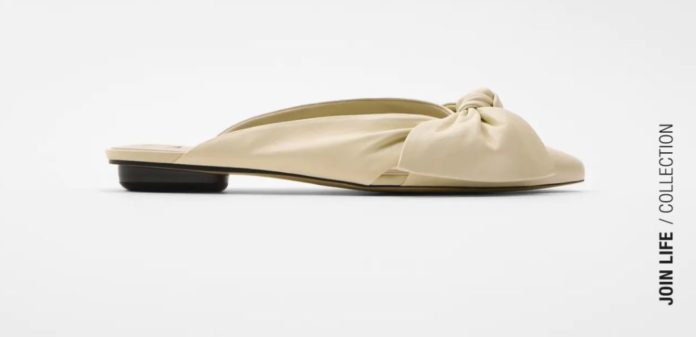 zapato plano zara