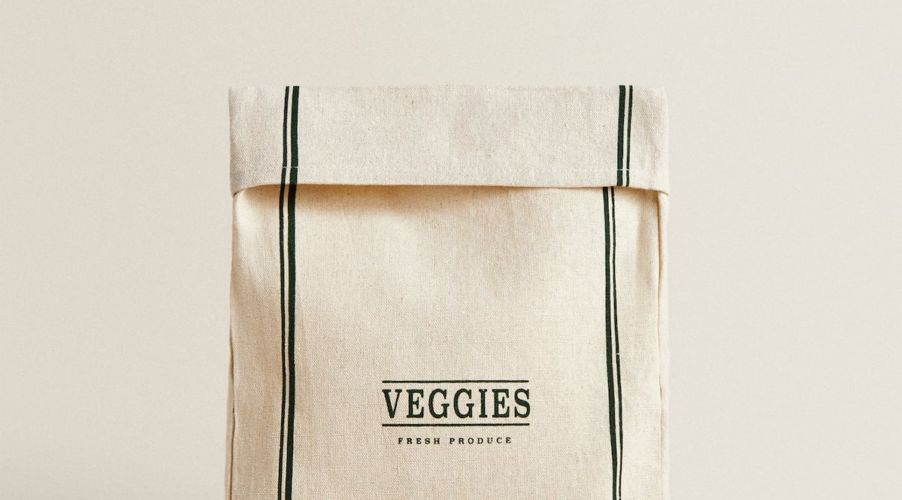 saco frutas y verduras zara home
