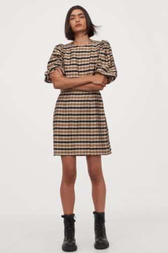vestido mezcla H&M