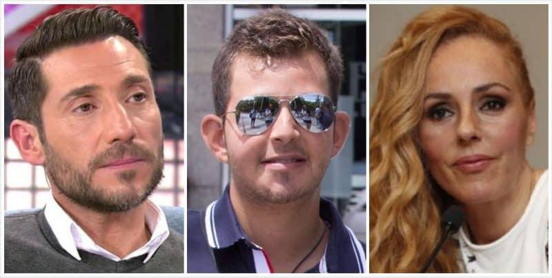 Antonio David, David Flores y Rocío Carrasco