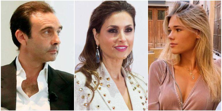 Enrique Ponce, Paloma Cuevas y Ana Soria