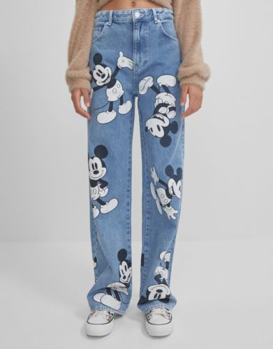Jeans 90'S Mickey Mouse