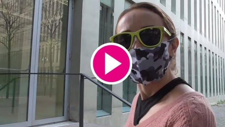 ¿Son Angela Dobrowolski y Gabriel las personas encapuchadas del vídeo?