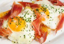 Huevos con jamón ibérico