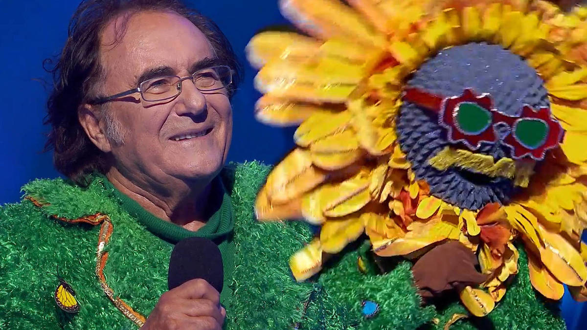 Albano Carrisi participa en mask singer