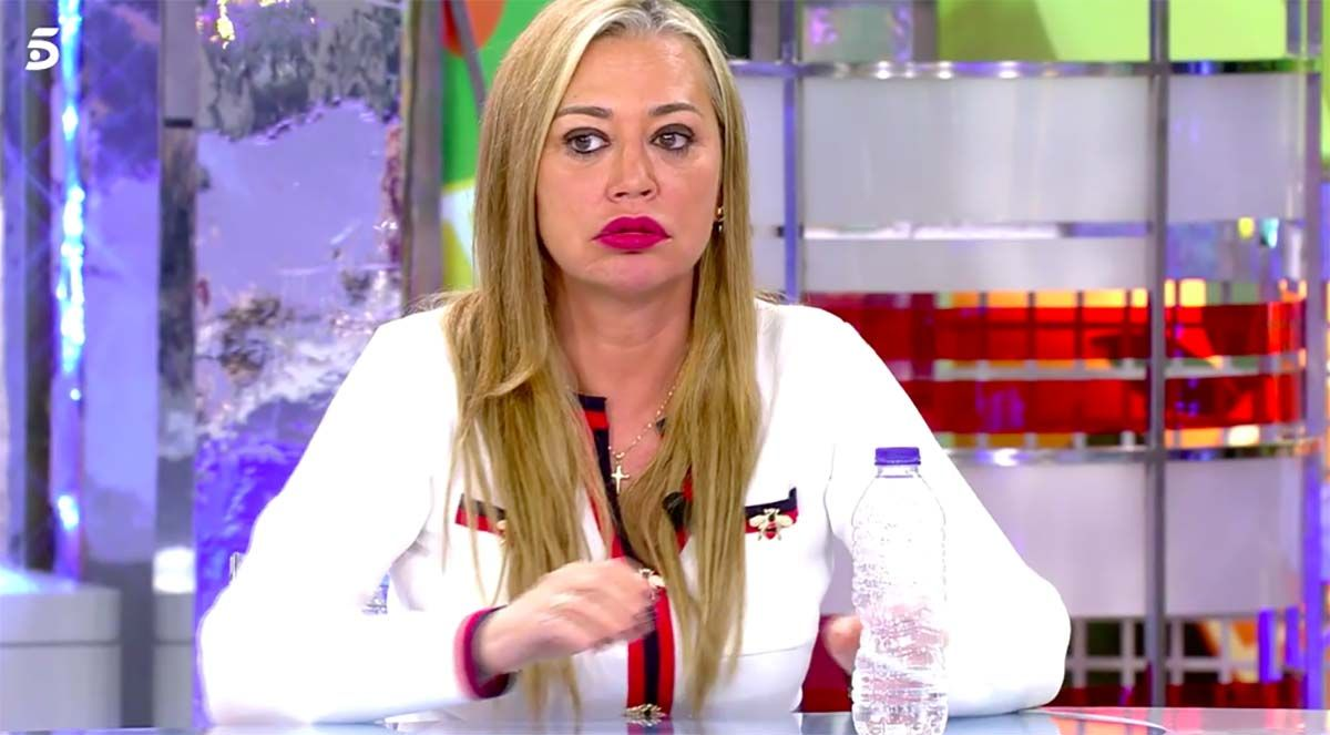 Belén Esteban muy enfadada con Anabel Pantoja