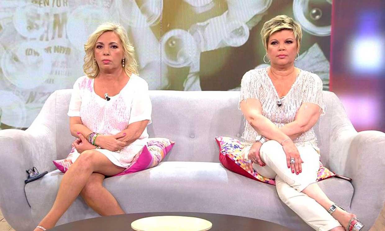 Terelu Campos y Carmen Borrego