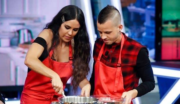 cristina pedroche-david-munoz-cocinando en el hormiguero