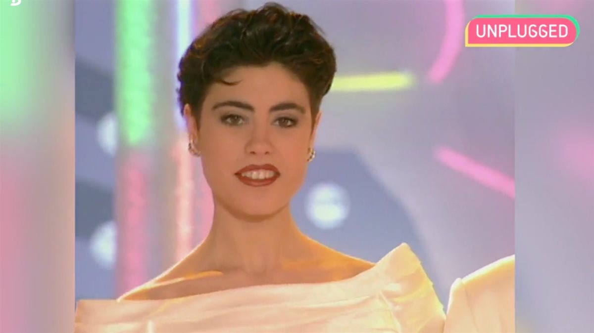 Isabel Rábago en Miss España 1993