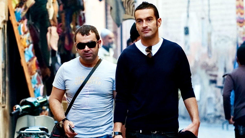 Jorge Javier y su novio Paco