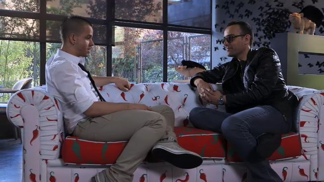 Risto entrevista a Dabid Muñoz en Viajando con chéster