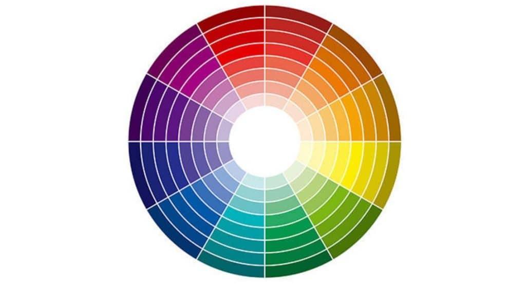 rueda cromatica sombra ojos