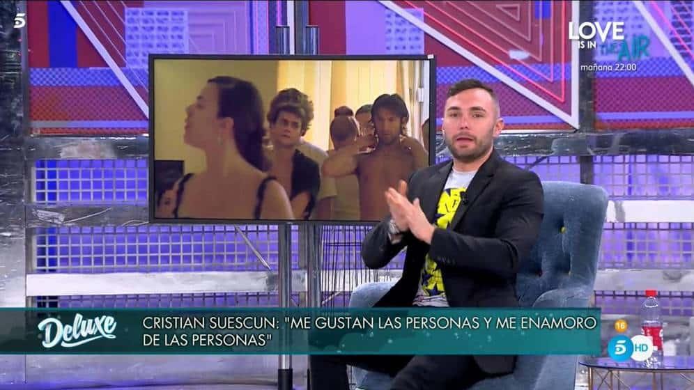 Crisitan Suescun sorprende a Jorge Javier Vázquez