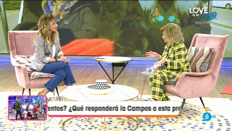 María Teresa Campos se rinde
