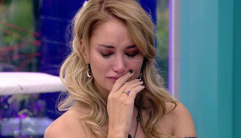 Alba Carrillo llorando en GH VIP