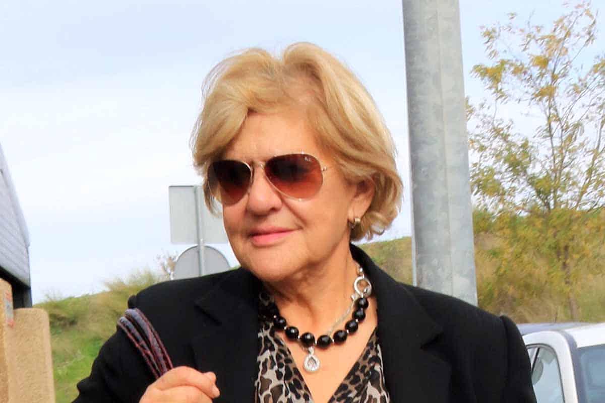 Carmen Bazán deprimida