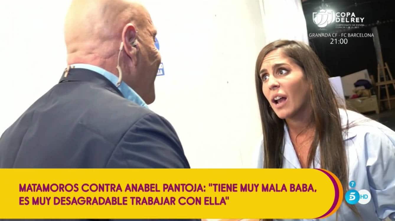 Kiko Matamoros estalla contra Anabel Pantoja en Sálvame