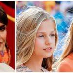 Reina Letizia, princesa Leonor e infanta Sofía