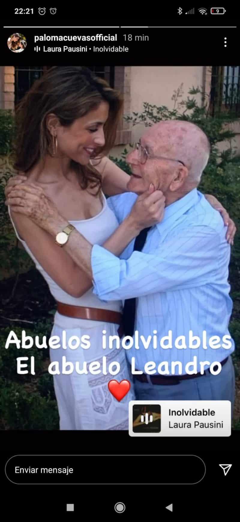 cotilleo Paloma Cuevas y la llamada de atención a Enrique Ponce paloma cuevas con abuelo leandro