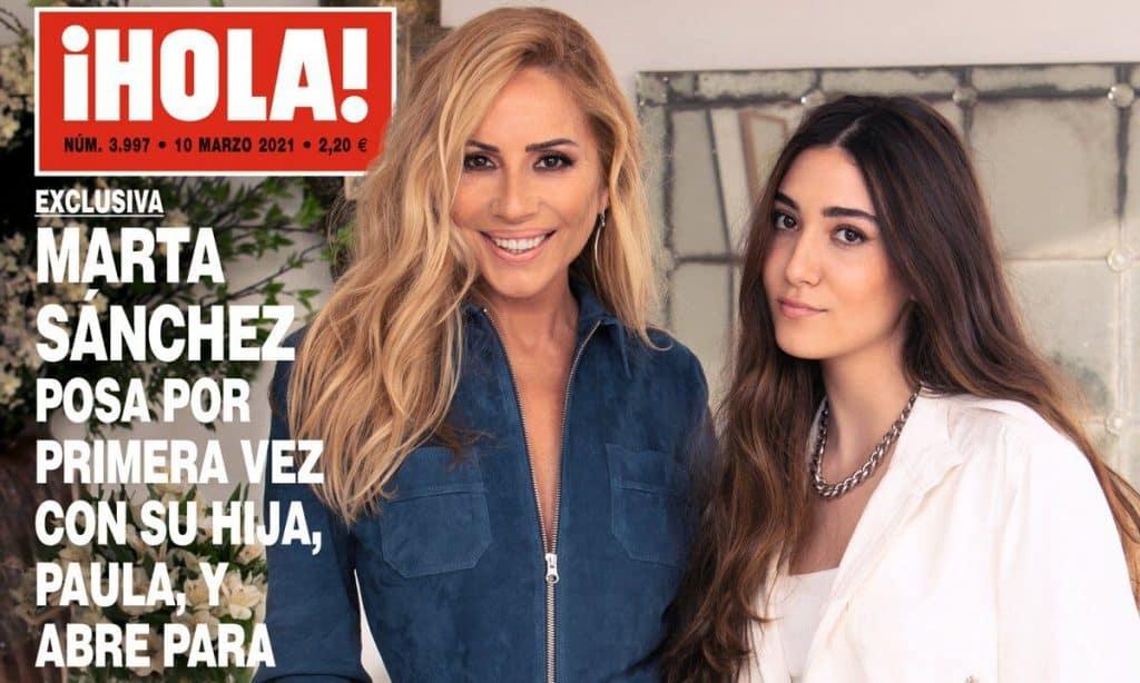 marta-sanchez-hija-paula-revista-hola