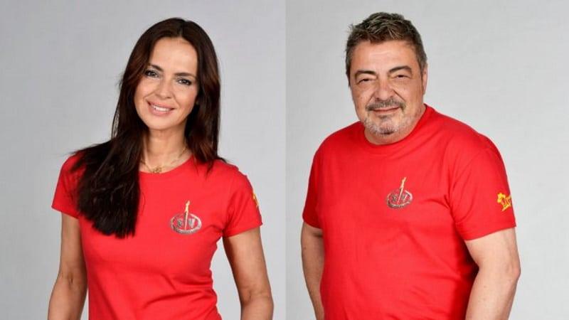 Olga Moreno y Antonio Canales