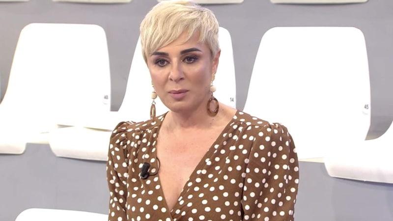 Ana María Aldón llora en Viva la vida