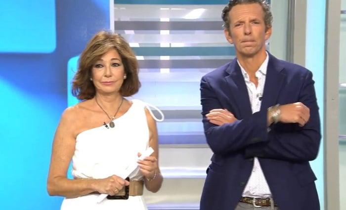 Ana Rosa y Joaquín Prat enfrentamiento