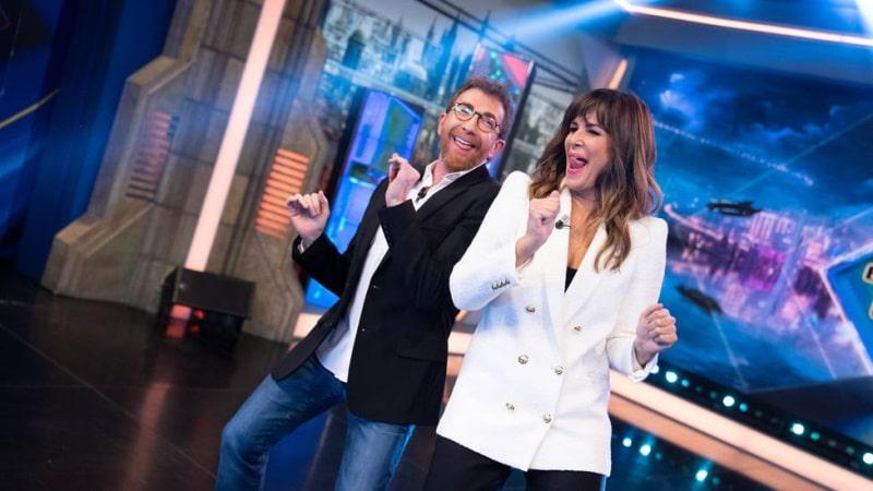 Pablo Motos y Nuria Roca