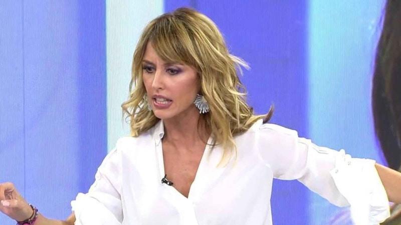 emma garcia pierde los nervios en Viva la vida