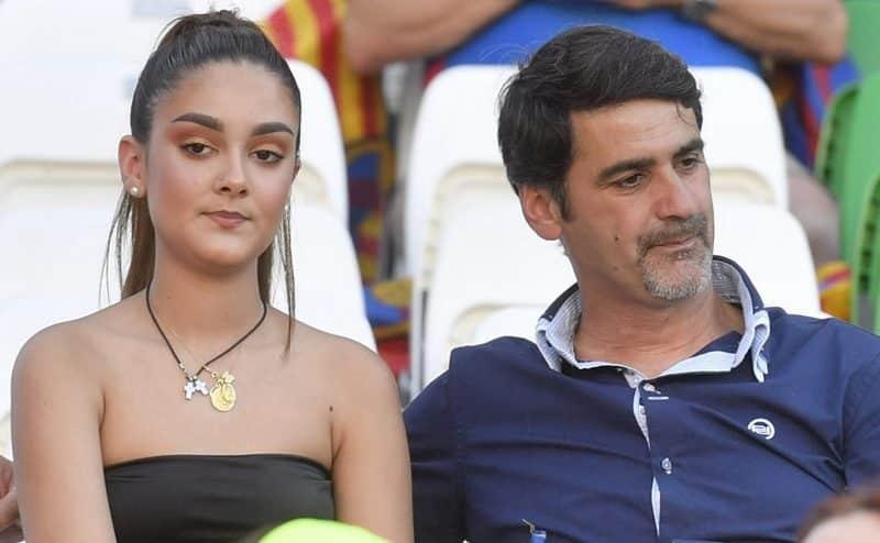 Julia Janeiro y su padre, Jesulín de Ubrique