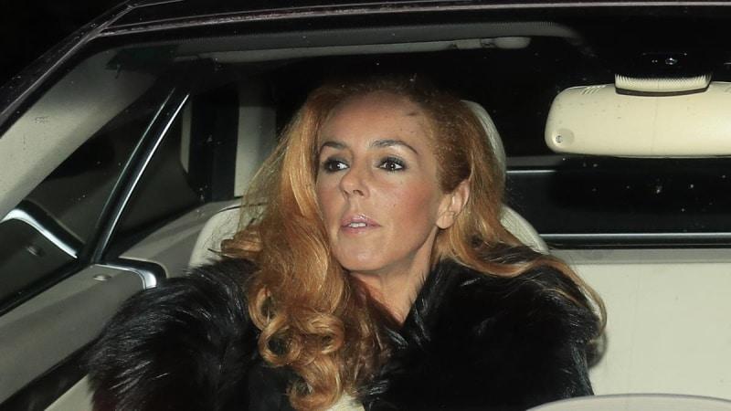 Rocío Carrasco pillada dentro de un coche
