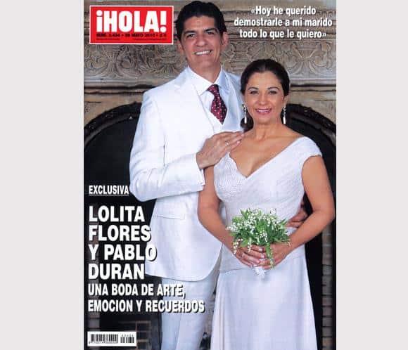 Lolita Flores y Pablo Durán