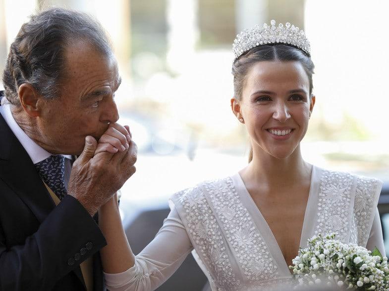 maria vega penichet vestida novia laura ponte
