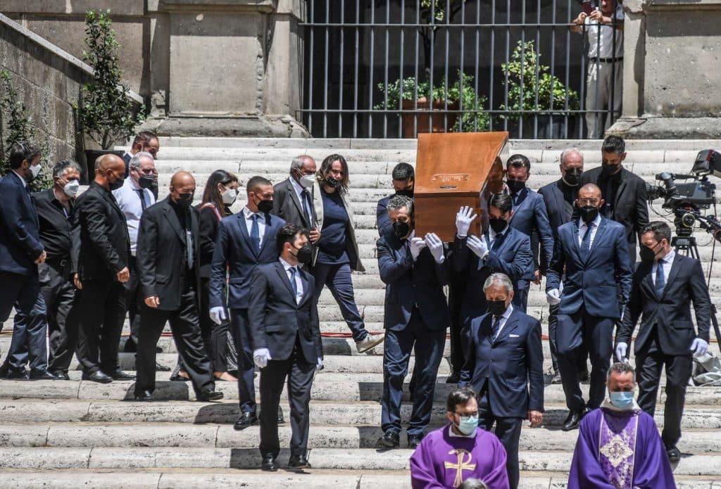 Funeral Raffaella Carrà