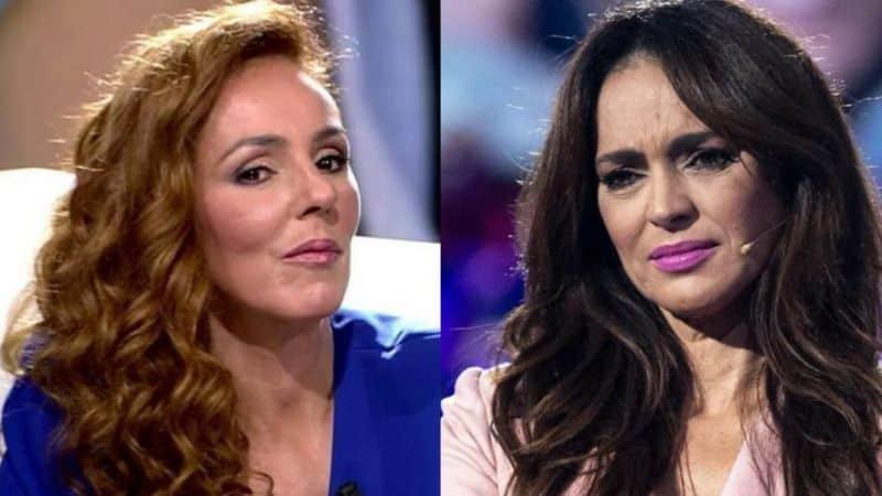 Rocio Carrasco y Olga Moreno