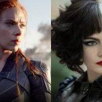 Emma Stone y Scarlett Johansson Viuda Negra y Cruella de Vil
