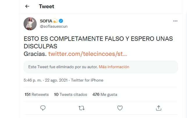 sofia suescun twitter