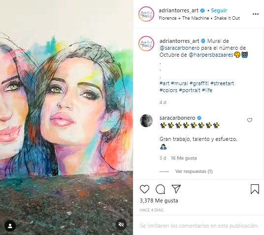 Adrian Tores Sara Carbonero - Instagram
