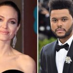 Angelina Jolie y The Weeknd juntos