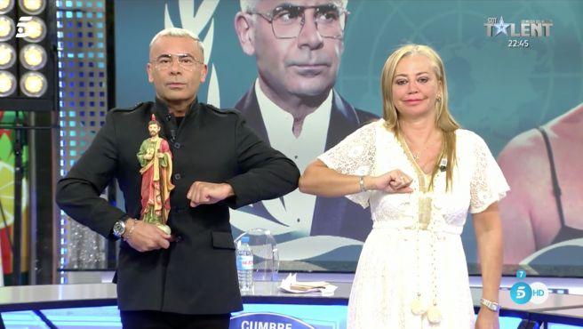 Cumbre de la paz Sálvame Belén Esteban Jorge Javier Vázquez