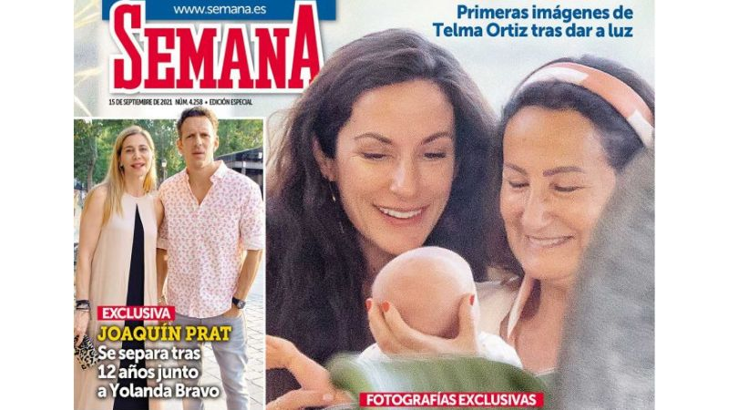 Semana divorcio Joaquín Prat