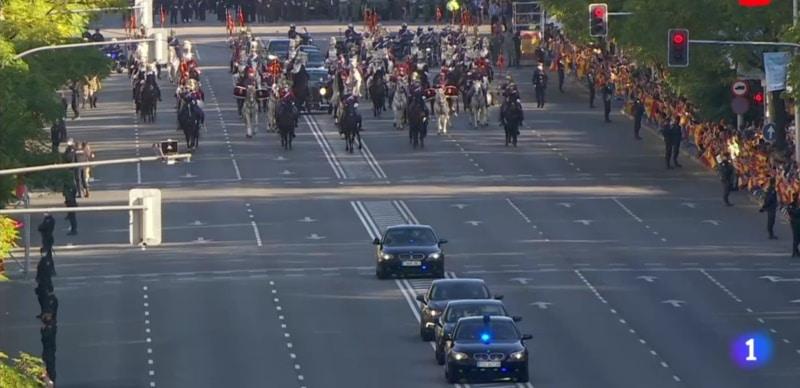 desfile 12 de octubre